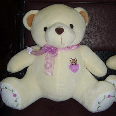 禮品/30cm玫瑰熊