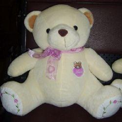 礼品/30cm玫瑰熊