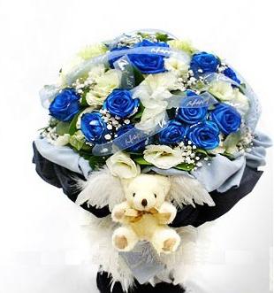 11枝藍色妖嬈/愛如我心