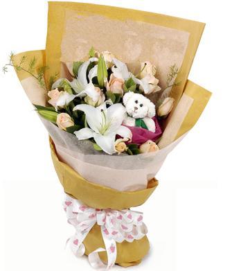 12枝粉玫瑰/爱你的原因