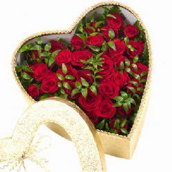 27枝红玫瑰/永恒我心