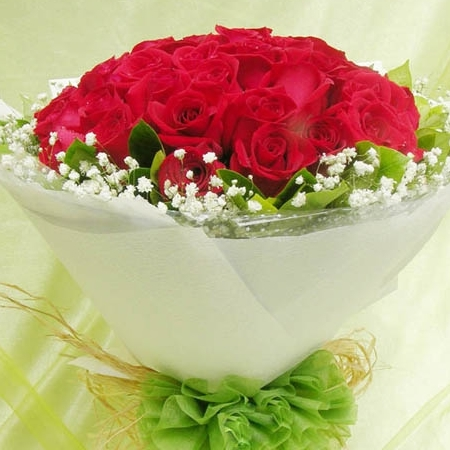 22枝红玫瑰/单纯的想你