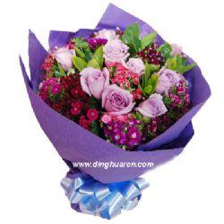 11枝紫玫瑰/相识相知