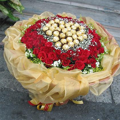 99枝红玫瑰/心灵的交融