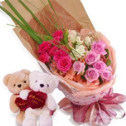 21枝玫瑰/最浪漫的事