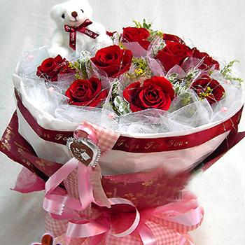 11枝紅玫瑰/愛意濃濃