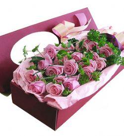 20枝紫玫瑰/只�僖寥�