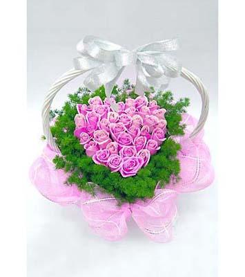 38枝紫玫瑰/多彩情怀