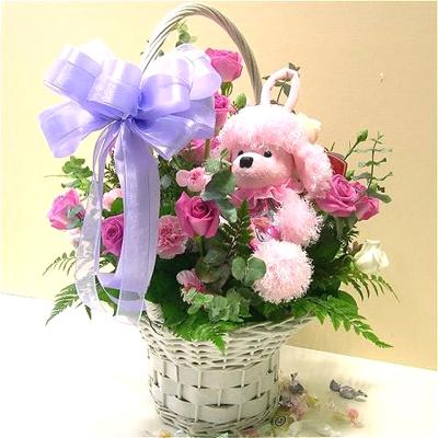 21枝粉玫瑰/祝福无限