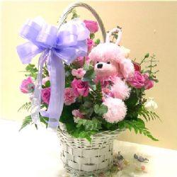 21枝粉玫瑰/祝福�o限