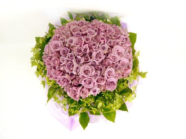 99枝紫玫瑰/紫在乎妳