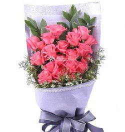 20朵粉玫瑰/此情不渝