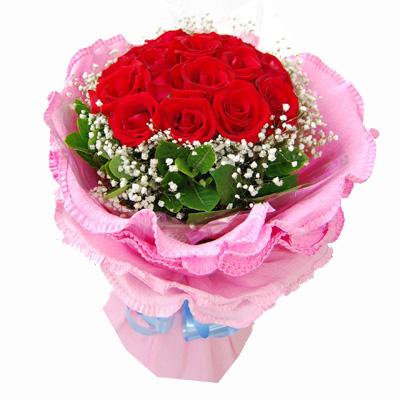 12枝紅玫瑰/永遠相伴