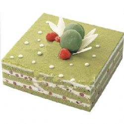 抹茶蛋糕/春的浪漫(8寸)