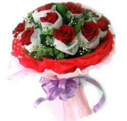 11枝红玫瑰/真心无悔