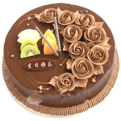 巧克力蛋糕/一生的愛(8寸)