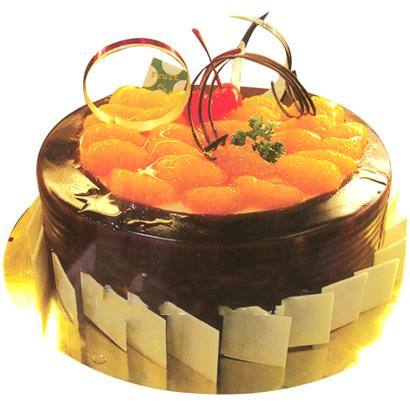 巧克力水果蛋糕/永恒歲月(8寸)