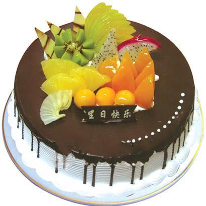 巧克力蛋糕/爱浓情亦浓(8寸)