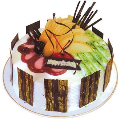鮮奶蛋糕/快樂的音符(8寸)