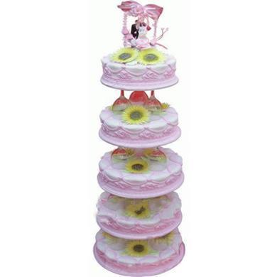 婚慶蛋糕/粉色天空