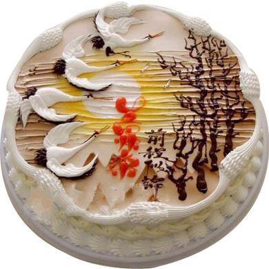鲜奶蛋糕/前程似锦(8寸)