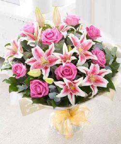 9枝紫玫瑰/珍惜的爱