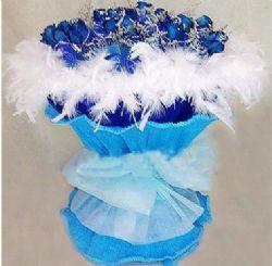 21枝蓝玫瑰/蓝色幻想