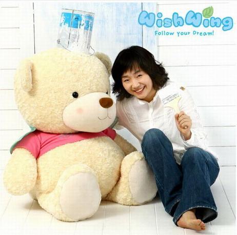 禮品/韓國WishWing飛飛熊1.1米
