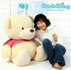 礼品/韩国WishWing飞飞熊1.1米