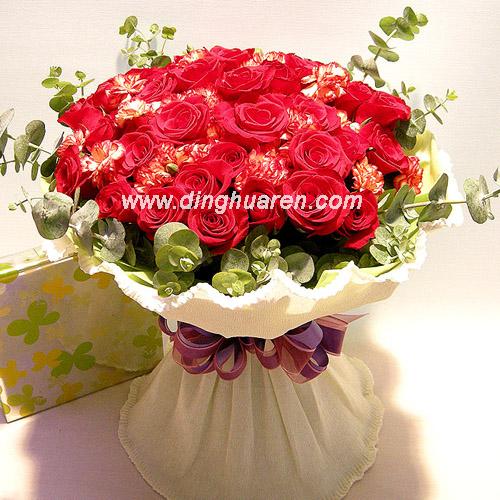 24枝红玫瑰/对你的思念