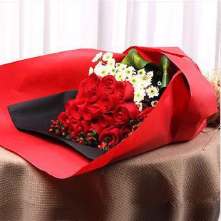 19枝红玫瑰/你的微笑
