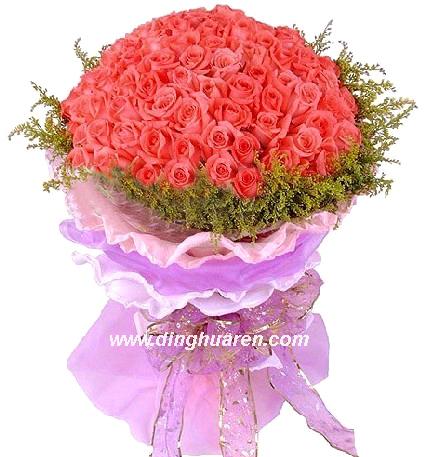 99枝粉玫瑰/粉红99