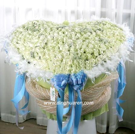 365枝白玫瑰/爱之源