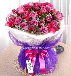 19枝紫玫瑰/�o言的歌