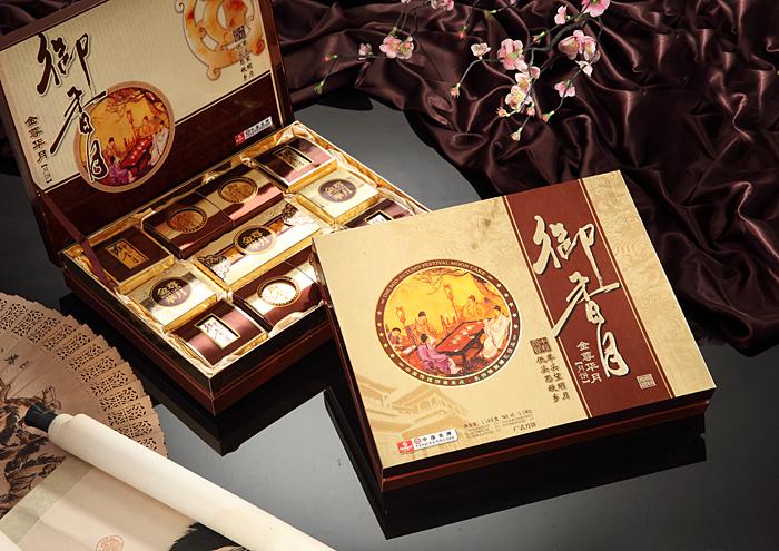 中秋月饼/御香月-金尊华月