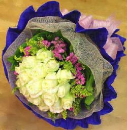19枝白玫瑰/爱的告白