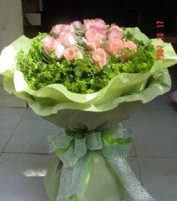 11枝粉玫瑰/爱的天使
