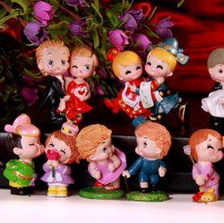 十全十美情侣娃娃组合装