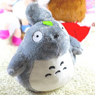 宫崎骏 TOTORO龙猫70cm公仔娃娃~多多洛猫毛绒玩具~我的爱情宣言