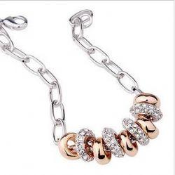 串起的幸福 施华洛世奇元素水晶手链