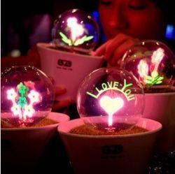 花火小夜灯 创意新奇特别生日礼物送女友男朋友同学浪漫情人礼品