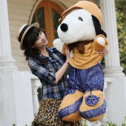 1.2米大号SNOOPY 史努比 公仔 女友礼物 毛绒玩具 娃娃: 1.2米 大号SNOOPY 史努比 优质布绒+优质弹力棉