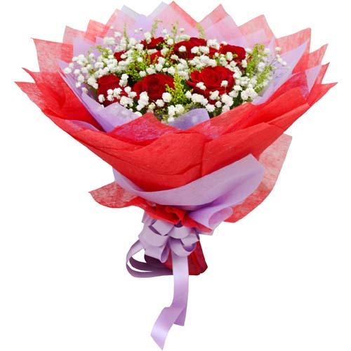 9枝红玫瑰/唯爱一生