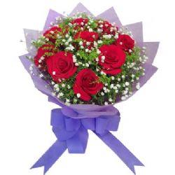 9枝红玫瑰/生日礼物