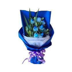 9枝蓝玫瑰/风中迷语