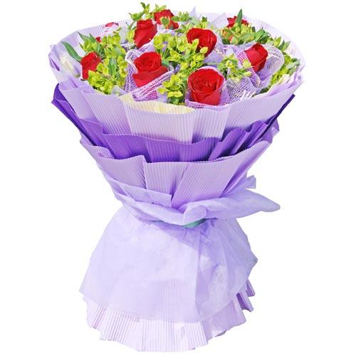 11枝红玫瑰/勿忘