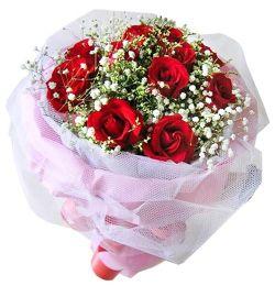 11枝�t玫瑰/一心一意