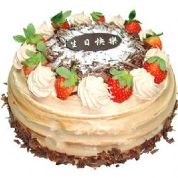 圆形巧克力蛋糕/寻梦(8寸)