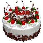 圆形鲜奶蛋糕/蝶舞(8寸)