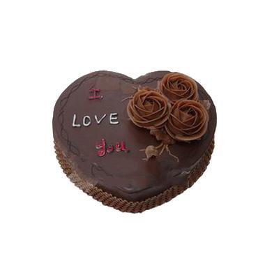 心型的巧克力蛋糕/夜之曲(8寸)